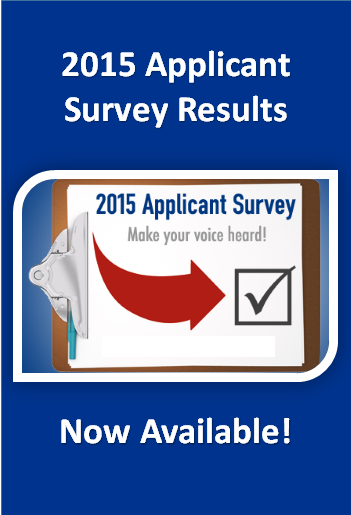 Applicant Survey Results Now Available!